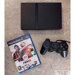 Playstation 2 Slim - Komplett konsoll med FIFA 09