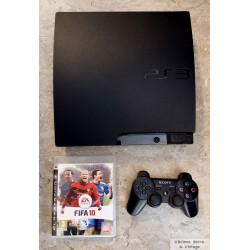 Playstation 3 Slim med 298 GB HD - Komplett konsoll med spill