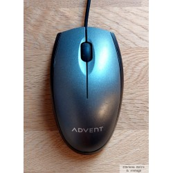 Advent Wired Optical Mouse - M112 - Mus