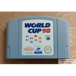 Nintendo 64: World Cup 98