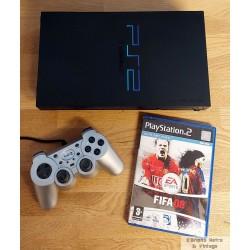 Playstation 2 - Komplett konsoll med FIFA 08