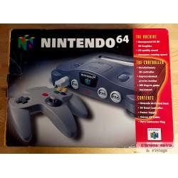 Nintendo 64 - Komplett konsoll i eske - SCN
