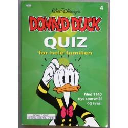 Donald Duck Quiz - Nr. 4