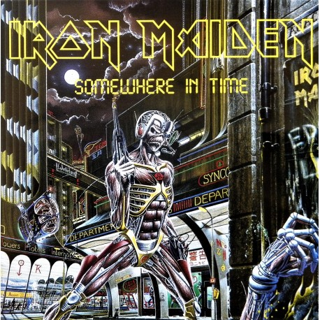 Iron Maiden- Somewhere In Time (CD)