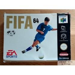 Nintendo 64: FIFA 64 (EA Sports)