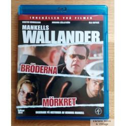 2 x Wallander - Bröderna - Mörkret - Blu-ray