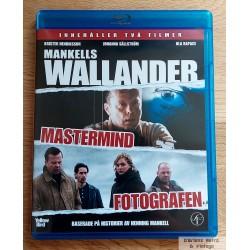 2 x Wallander - Mastermind - Fotografen - Blu-ray