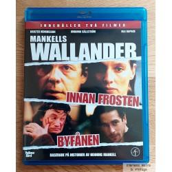 2 x Wallander - Innan frosten - Byfånen - Blu-ray