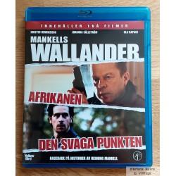 2 x Wallander - Afrikanen - Den svaga punkten - Blu-ray