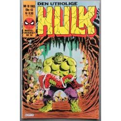 Den utrolige HULK- 10/1985