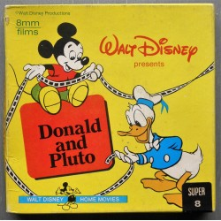(8 mm) Walt Disney- Donald og Pluto