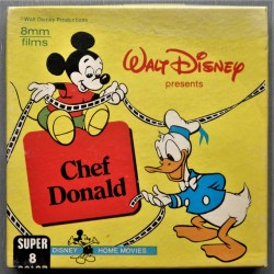 (8 mm) Walt Disney- Chef Donald