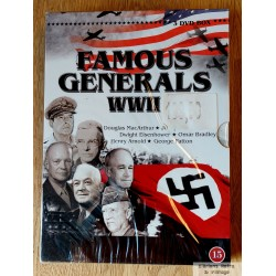 Famous Generals WWII - 3 DVD Box - DVD