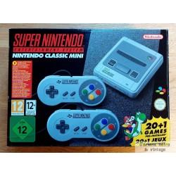 SNES Mini - Super Nintendo - Komplett i eske