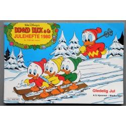 Donald Duck & Co- Julehefte 1980