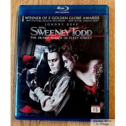 Sweeney Todd: The Demon Barber of Fleet Street - Blu-ray