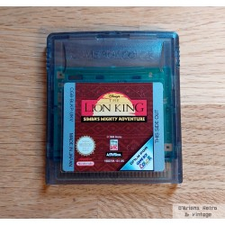 GameBoy Color: The Lion King - Simba's Mighty Adventure
