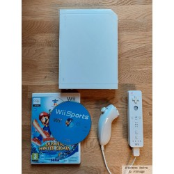 Nintendo Wii - Komplett konsoll med spill