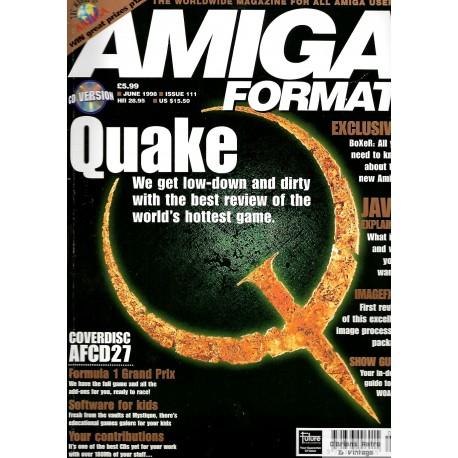 Amiga Format - 1998 - June - Quake