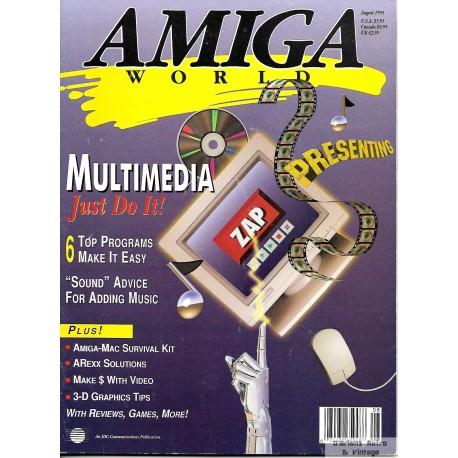 Amiga World - 1994 - August - Multimedia