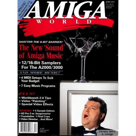 Amiga World - 1992 - April - The New Sound of Amiga Music