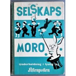 Aftenposten- Selskapsmoro- 1956