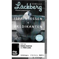 Isprinsessen + Predikanten - Camilla Läckberg - Digikort