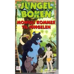 Jungelboken - Mowgli kommer til jungelen - VHS