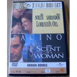 2 x drama: Lorenzos Oil og Scent of a Woman