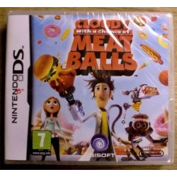 Nintendo DS: Cloudy with a Chance of Meatballs