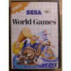 SEGA Master System: World Games