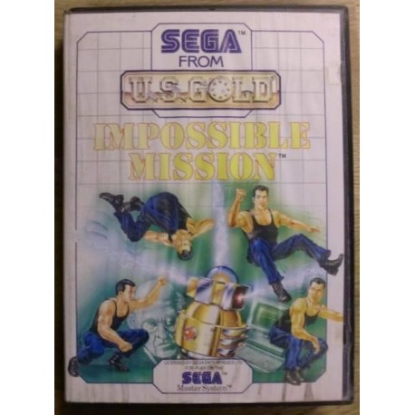 SEGA Master System: Impossible Mission
