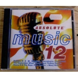 Absolute Music 12 med blant andre Rednex, REM, Stones