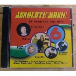 Absolute Music 6 med Brian May, Roxette, REM, Tasmin Archer