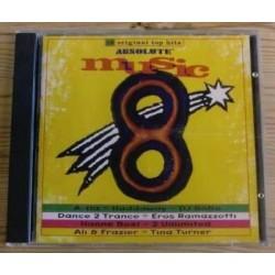 Absolute Music 8 med blant andre A-HA, DJ Bobo, Haddaway