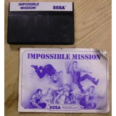 SEGA Master System: Impossible Mission