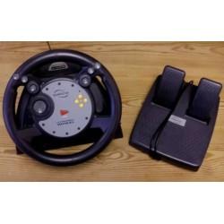 Nintendo GameCube: Komplett sett med ratt og pedaler