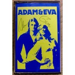 Adam og Eva: Signert kassett med hilsen i booklet