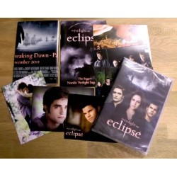 The Twilight Saga: Eclipse - Spesialutgave med postkort m.m