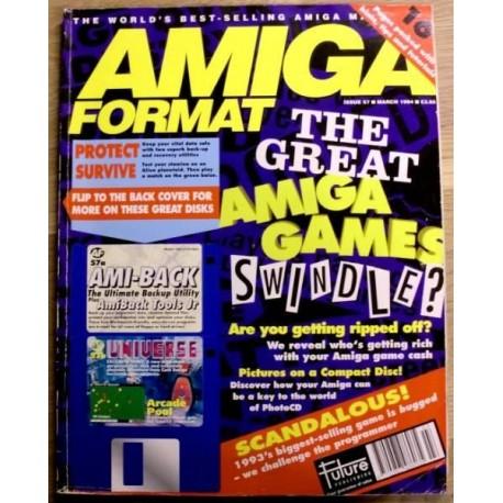 Amiga Format: 1994 - March