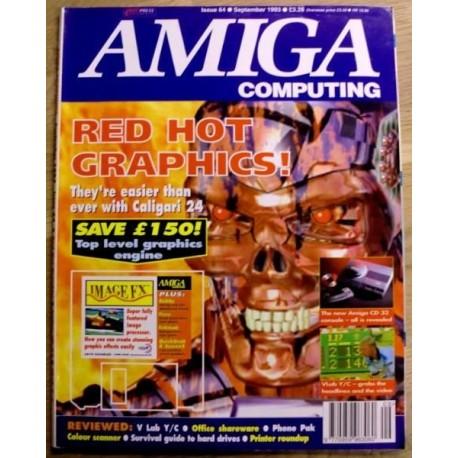 Amiga Computing: 1993 - September