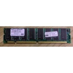 RAM: 512 MB SDRAM PC133