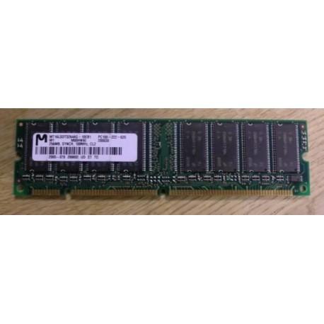 RAM: 256 MB PC100 - 222 - 620