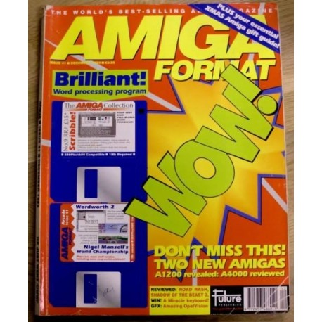 Amiga Format: 1992 - December