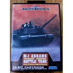 SEGA Mega Drive: M-1 Abrams Battle Tank