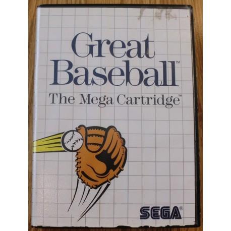 SEGA Master System: Great Baseball