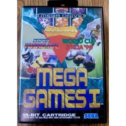 SEGA Mega Drive: Mega Games I - Super Hang-On, Italia '90 & Columns