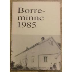 Borreminne 1985: Lokalhistorie fra Borre og Horten