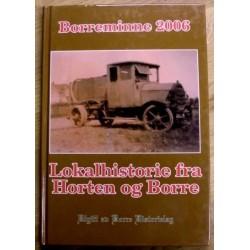 Borreminne 2006: Lokalhistorie fra Borre og Horten