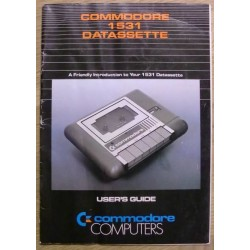 Commodore 1531 Datassette: User's Guide